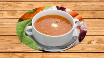 Σούπα-κρέμα με καραμελωμένα κρεμμύδια