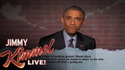 Ο Barack Obama διαβάζει μερικά απο τα χειρότερα tweets για τον εαυτό του. Θα κρατήσει την ψυχραιμιά του;