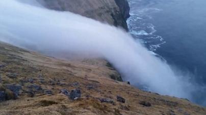 Μαγευτικά πλάνα: Ένας καταρράκτης… ομίχλης