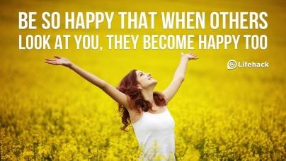 5 τρόποι για να είσαι ευτυχισμένη κάθε μέρα!