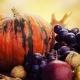 Θρεπτικά φρούτα και λαχανικά του φθινοπώρου