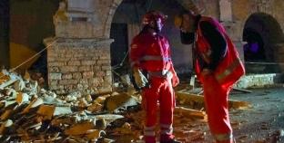 Aπολογισμός των ζημιών μετά τον ισχυρό σεισμό στην Ιταλία