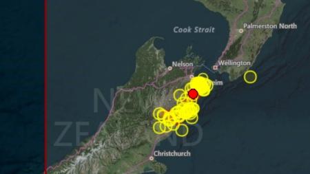 Νέος ισχυρός σεισμός στη Νέα Ζηλανδία