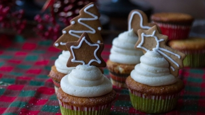 Cupcakes βανίλιας