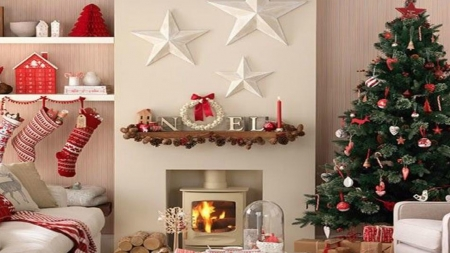 Ιδέες Χριστουγεννιάτικης διακόσμησης σπιτιού