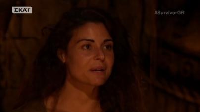 Survivor: Η Συγκινητική Στιγμή που η Ειρήνη Κολιδά ανακοίνωσε αν θα μείνει στο Survivor ή όχι!