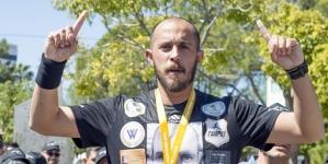 Μαραθώνιος Λεμεσού: Συγκίνηση προκάλεσε η ιστορία του 30χρονου Γιώργου Σταύρου