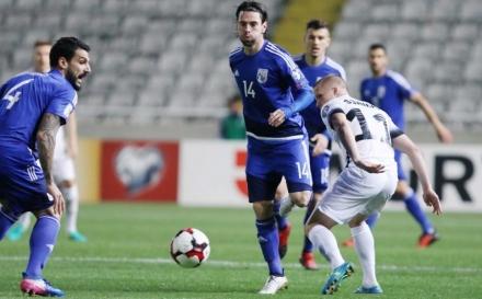 Απογοητευτική η Εθνική εμεινε στο στείρο 0-0 με την Εσθονία