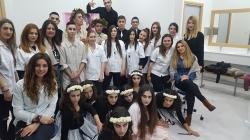 Συμμετοχή φοιτητριών Αισθητικής του KES College στην Θεατρική Παράσταση Βάκχες του Ευριπίδη στο Λύκειο Αραδίππου