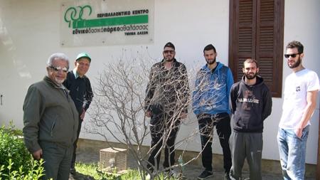 Εκπαιδευτική επίσκεψη του Προγράμματος Σπουδών Κηποτεχνίας και Σχεδιασμός Κήπου στο Κέντρο Ενημέρωσης του Τμήματος Δασών στην Αθαλάσσα