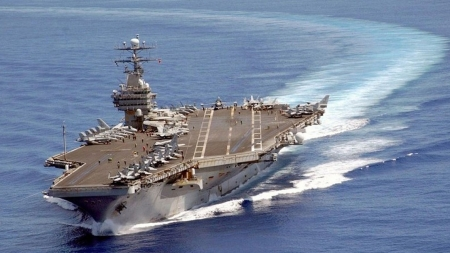 USS Carl Vinson: Kινείται προς την Κορεατική Χερσόνησο