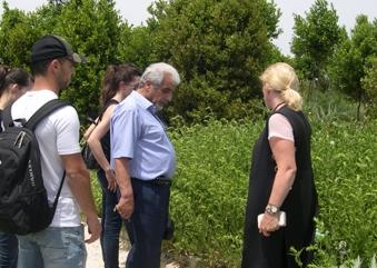 Εκπαιδευτική επίσκεψη του Προγράμματος Σπουδών «Κηποτεχνία και Σχεδιασμός Κήπου» του KES College στο Αγρόκτημα «Cyherbia Botanical Park and Labyrinth» στο Αυγόρου