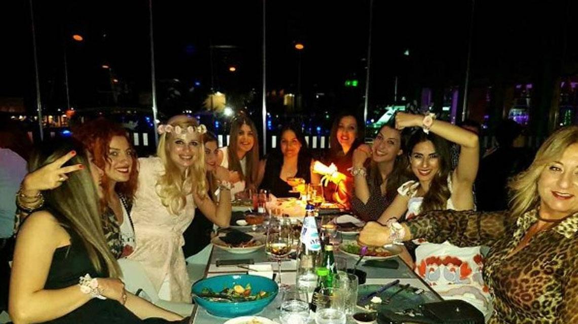 Χριστιάνα Αριστοτέλους: Οι φωτογραφίες από το hens party της που ανέβασε η ίδια στον προσωπικό της λογαριασμό στο instagram
