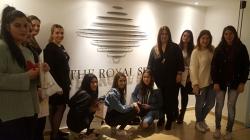 Εκπαιδευτική Επίσκεψη των φοιτητριών των Αξιολογημένων Προγραμμάτων Σπουδών Αισθητικής του KES College στο SPA του ξενοδοχείου Royal Apollonia στη Λεμεσό