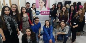 Συμμετοχή φοιτητριών Αισθητικής του KES College στην Καλλιτεχνική  Εκδήλωση του Λυκείου Αραδίππου «Τάσος Μητσόπουλος»