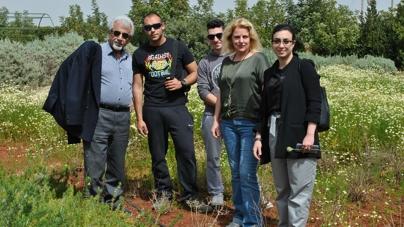 """Eκπαιδευτική επίσκεψη των πρωτοετών φοιτητών των Προγραμμάτων Σπουδών """"Κηποτεχνία"""" και """"Κηποτεχνία και Σχεδιασμός Κήπου"""" του KES College στο Βοτανικό Κήπο CYHERBIA"""