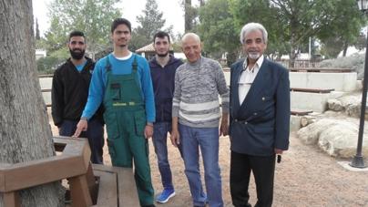 """Eκπαιδευτική επίσκεψη των δευτεροετών φοιτητών του Προγράμματος Σπουδών """"Κηποτεχνία και Σχεδιασμός Κήπου"""" του KES College στο Κέντρο Περιβαλλοντικής Ενημέρωσης"""