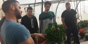 "Eκπαιδευτική επίσκεψη των δευτεροετών φοιτητών του Προγράμματος Σπουδών ""Κηποτεχνία και Σχεδιασμός Κήπου"" του KES College σε Φυτώριο Παραγωγής Γλαστρικών Φυτών"