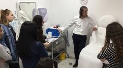 Εκπαιδευτική Επίσκεψη των φοιτητριών των Αξιολογημένων Προγραμμάτων Σπουδών Αισθητικής στο ιατρείο του Δερματολόγου Δρ. Πολυκάρπου Κυριάκου