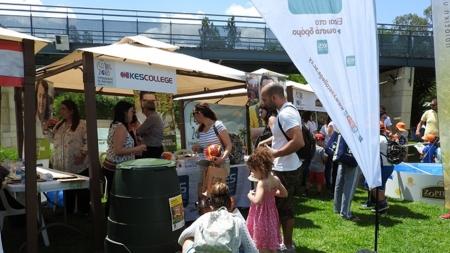 """Το KES College παρών στο  """"Φεστιβάλ Περιβάλλοντος και Ανακύκλωσης Λευκωσίας 2018"""""""