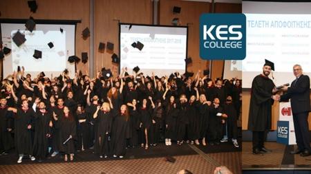 Τελετή Αποφοίτησης του KES College για το Ακαδημαϊκό Έτος 2017-2018