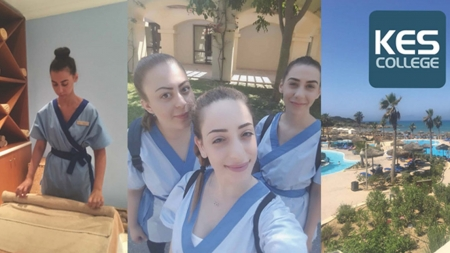 Πρακτική άσκηση φοιτητριών Αισθητικής του KES College σε ξενοδοχείο 5 αστέρων στην Κυλλήνη στα πλαίσια του Προγράμματος Erasmus+