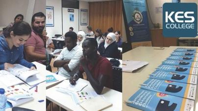 Επανέναρξη των μαθημάτων του Ευρωπαϊκού Προγράμματος «Δωρεάν Εκμάθηση Ελληνικής Γλώσσας σε Υπηκόους Τρίτων Χωρών» στο KES College