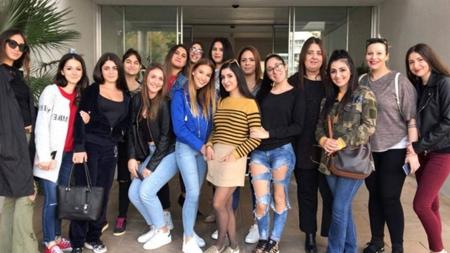 Οι φοιτήτριες των Αξιολογημένων Προγραμμάτων Σπουδών Αισθητικής του KES College επισκέφτηκαν το SPA του ξενοδοχείου The Royal Apollonia στη Λεμεσό στο πλαίσιο της εκπαίδευσής τους