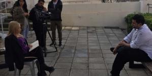 Οι φοιτητές Δημοσιογραφίας πήραν συνέντευξη απο τον Γιάννη Τούμπα (Εικόνες)