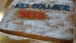 Κοπή της βασιλόπιτας στο KES College