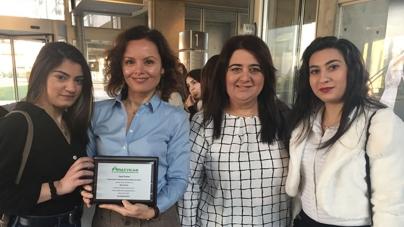 Bράβευση του KES College από τον Παγκύπριο Σύνδεσμο Καρκινοπαθών και Φίλων (ΠΑΣΥΚΑΦ)