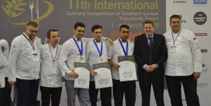 ΠΟΛΛΕΣ ΔΙΑΚΡΙΣΕΙΣ ΚΑΙ ΜΕΤΑΛΛΙΑ στους φοιτητές του KES COLLEGE στον 11ο Διεθνή Διαγωνισμό Μαγειρικής Νοτίου Ευρώπης 2019