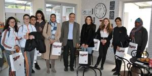 Επίσκεψη μαθητριών του Pascal English School Larnaka στο KES College