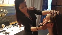 Εφαρμογή Επαγγελματικού Μακιγιάζ σε φιλανθρωπική εκδήλωση της Unicef από τις φοιτήτριες της Αισθητικής του KES College