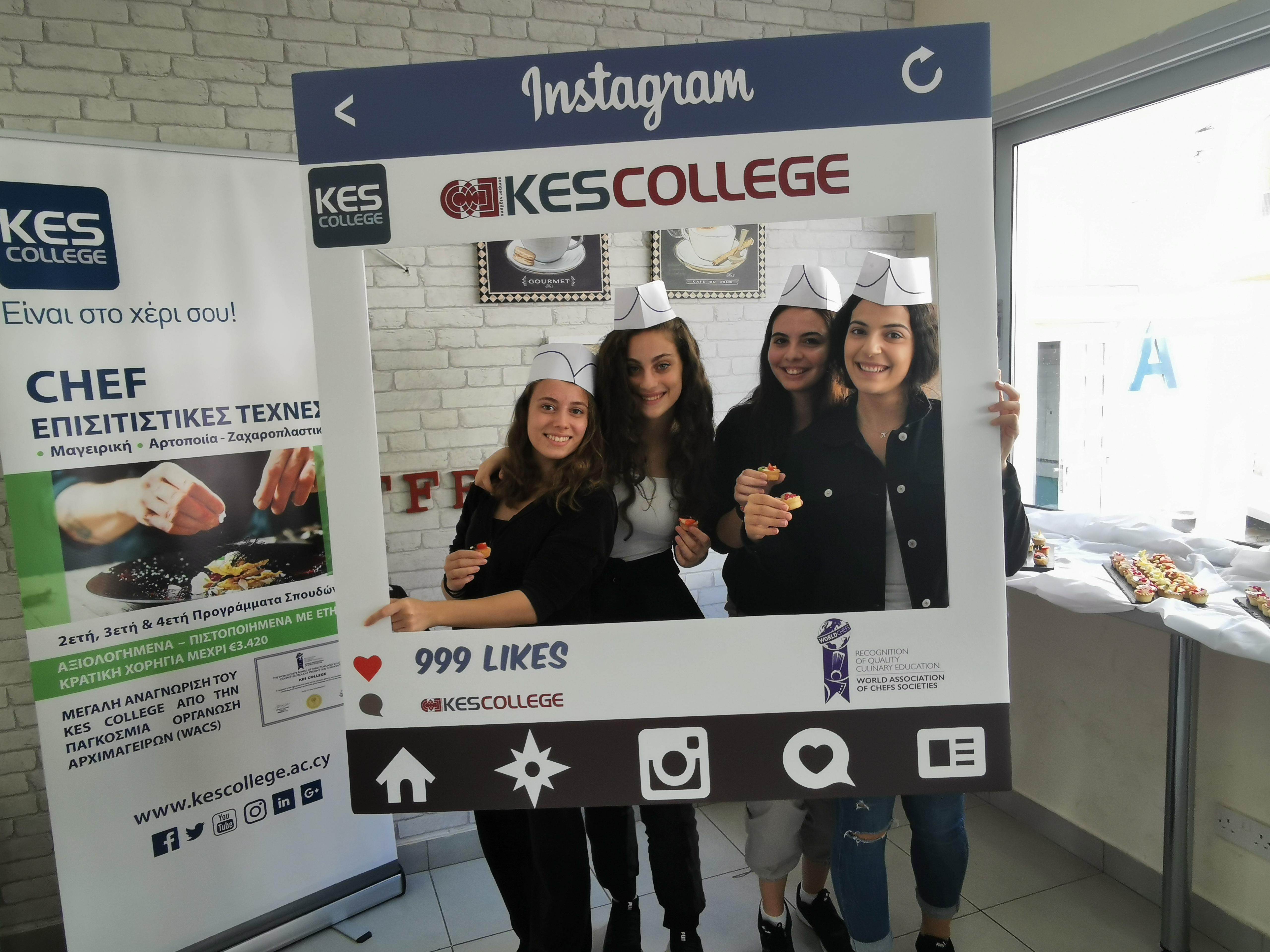 Εορτασμός της «Παγκόσμιας Ημέρας Αρχιμαγείρων» από το KES College