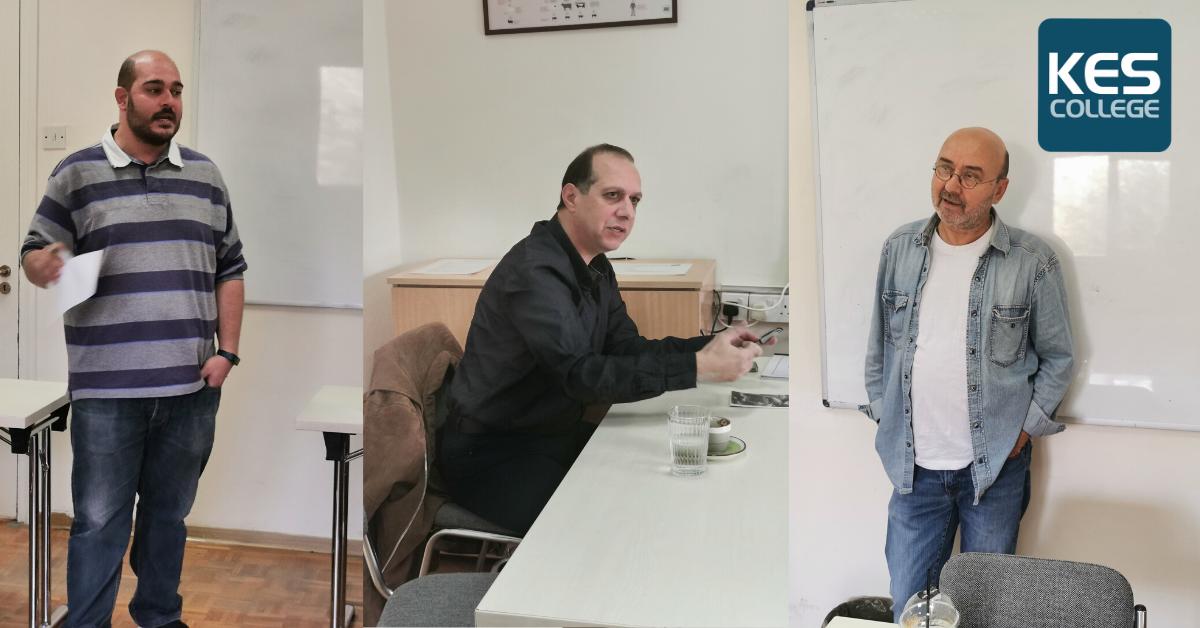 Διαλέξεις από καταξιωμένους δημοσιογράφους στους φοιτητές του Προγράμματος Σπουδών Δημοσιογραφία με Δημόσιες Σχέσεις του KES College