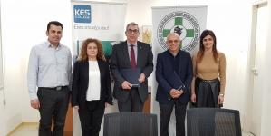 Υπογραφή Μνημονίου Συνεργασίας (MoU) μεταξύ του KES College και του Σωματείου Ιατρικών Επισκεπτών Κύπρου (ΣΙΕΚ)