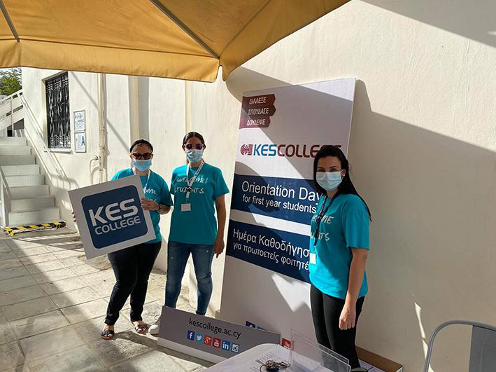 Ημέρα Ενημέρωσης και Καθοδήγησης των Πρωτοετών Φοιτητών του KES College