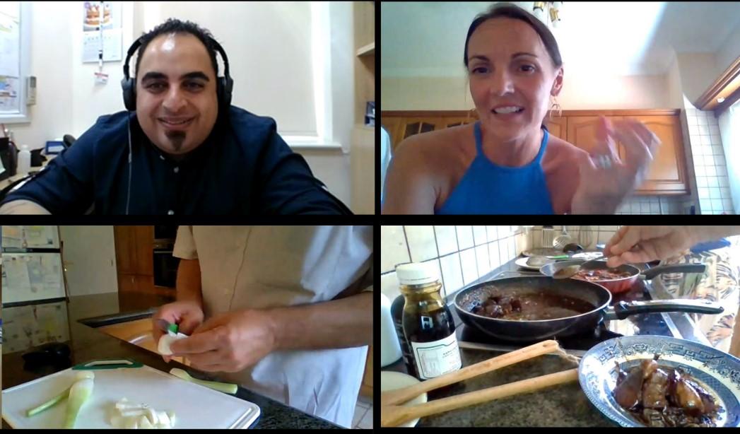 Παρουσίαση νέας συνταγής με λικέρ Teratsina για εκπομπή του BBC