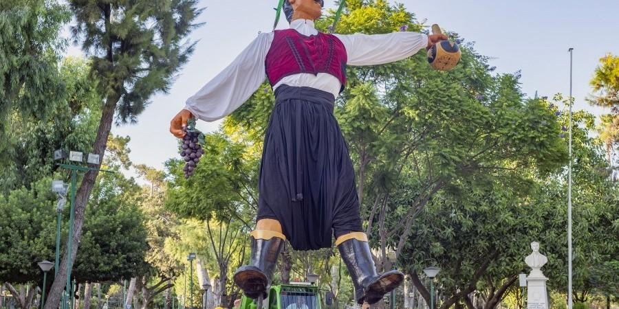 Με λαμπρότητα η 60η γιορτή του Κρασιού στη Λεμεσό-Στη θέση του ο βρακάς.